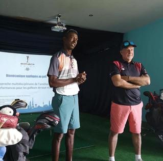 JJ Rivet au Golf International de Saint-François