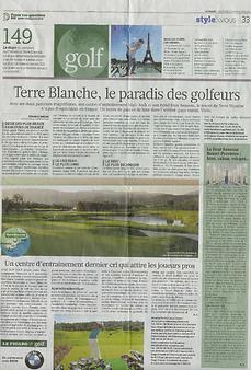 Le Figaro_2011-09-Centre d'entrainement