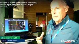 JJ Rivet à l'Open de France