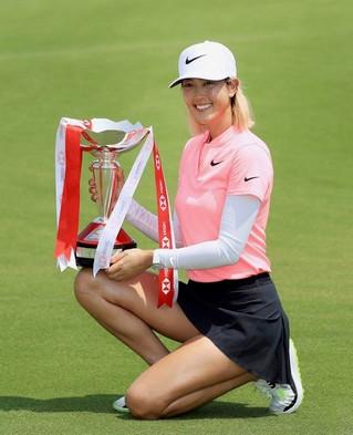 Michelle Wie vainqueur à Singapour !