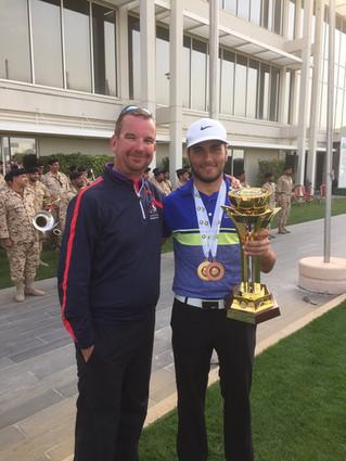 Félicitations à Ahmad Skaik