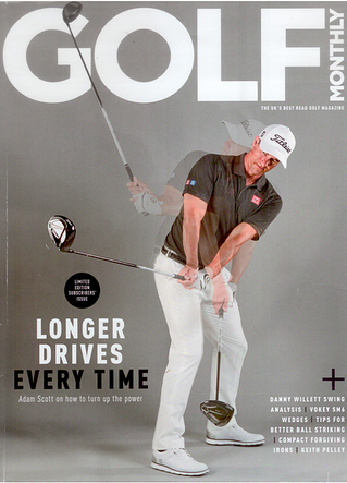 Article in Golf Monthly : new Under Armour golf shoe