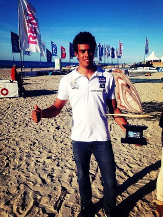 Tristan Algret  best young on PWA World Tour!