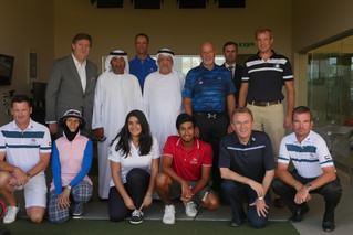 JJ Rivet with the United Arab Emirates national team 1/2