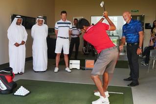 JJ Rivet with theUnited Arab Emirates national team 2/2