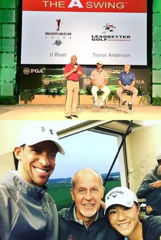 JJ Rivet at PGA Merchandise Show 2016