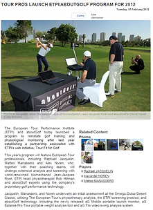Tour pros launch ETPI_aboutGolf program