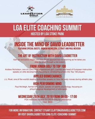 LGA Elite Coaching Summit