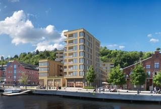 Holmestrand Brygge - Tømrer Entreprise