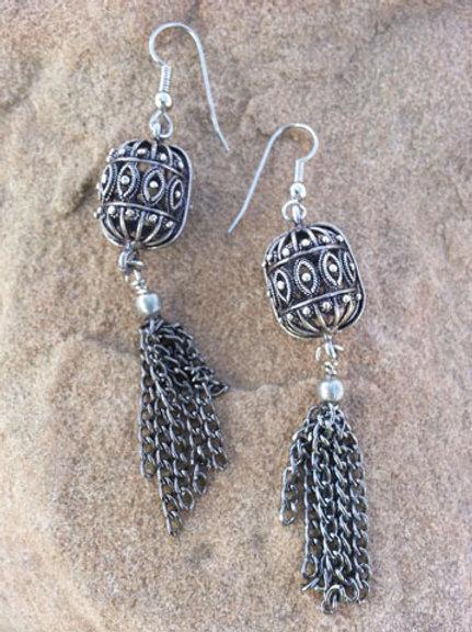 Vintage Cage Earrings