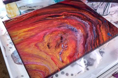 Fire Agate 11x14