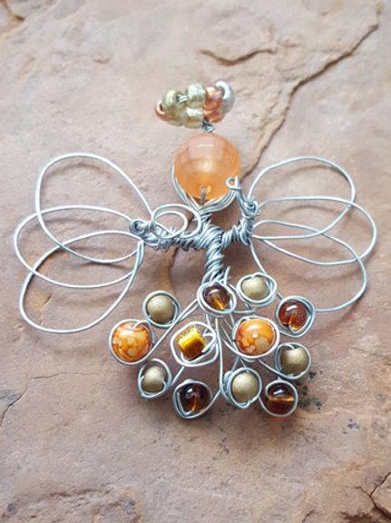 Autumn Angel Pins