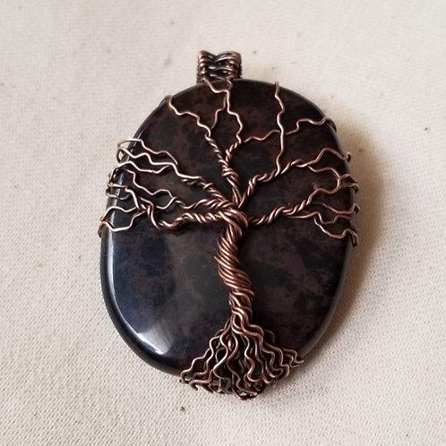 Obsidian Tree of Life