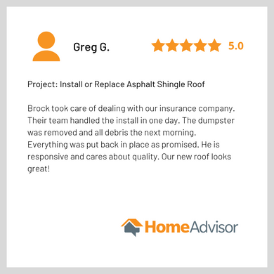 Homeadvisor Review - Good Shepherd Roofi