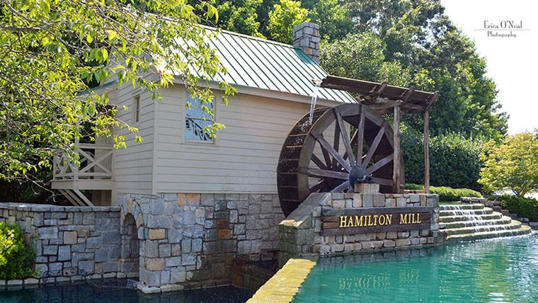 Hamilton Mill Subdivision Entrance Near Braselton Highway Dacula, GA