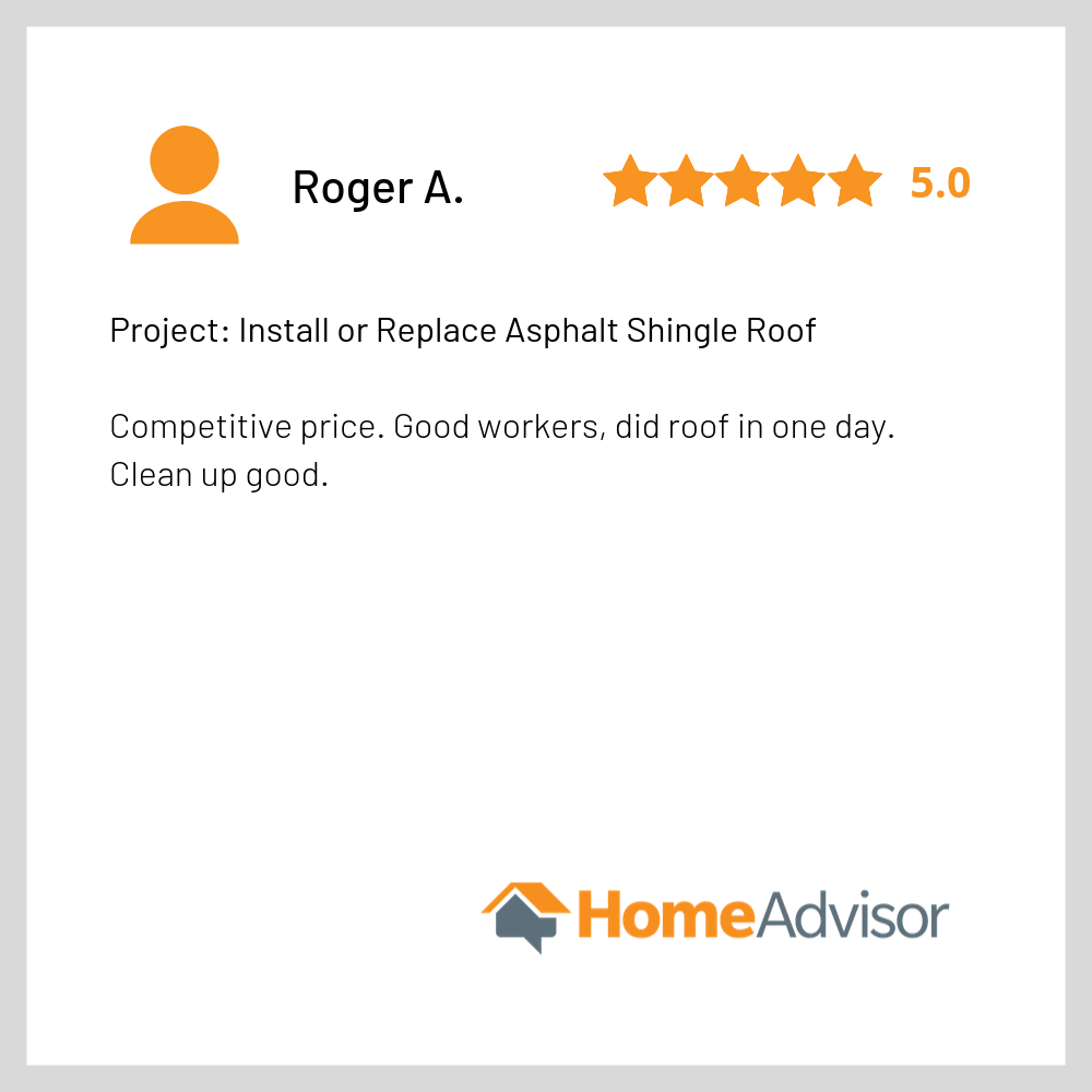 Google Review - Good Shepherd Roofing -