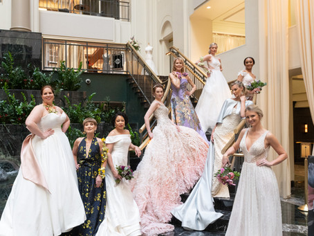 "Highlights from Philly Weddings 2020's ""Brides Bubbly & Brunch""."