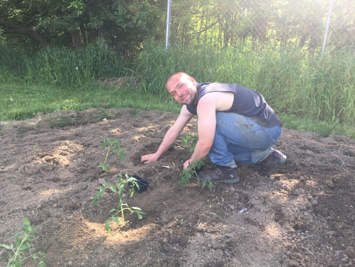 SRM Starts a Community Garden