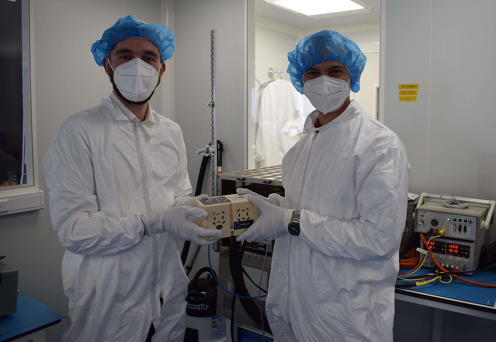 Left to right: Glenn Sciortino – Arkafort DevOps Team Lead, Prof. Joseph Borg – Molecular Geneticist
