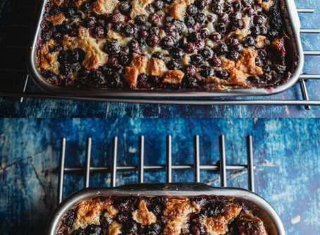 Blueberry Buttermilk Puff Pastry, OMG...