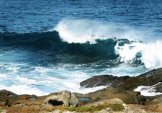 Vivonne Bay waves