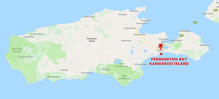 Kangaroo Island Google Map