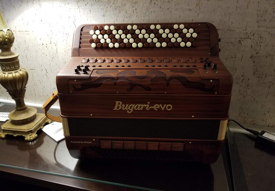 Petosa Bugari Evo display