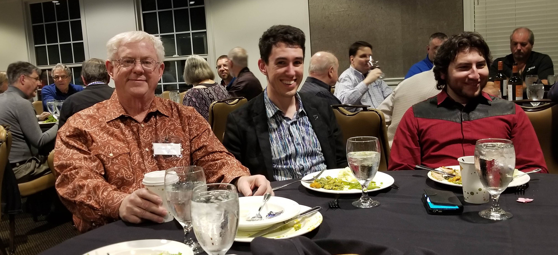 Mitchell White, Michael Bridge, & Cory Pesaturo