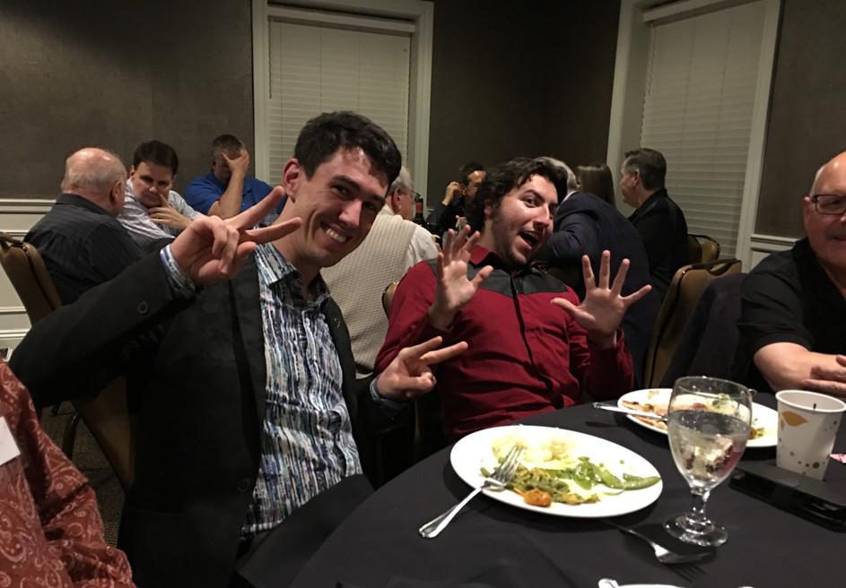 Michael Bridge & Cory Pesaturo