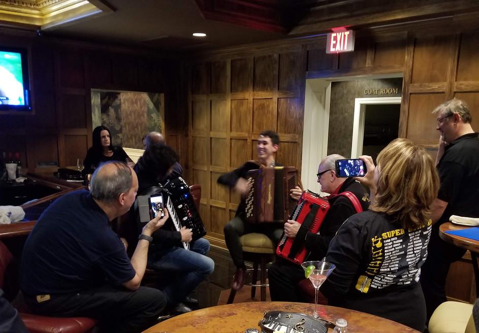 Fun in the Avalon Inn Lounge