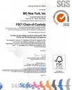MG New York FSC® (FSC-C151987) Certified
