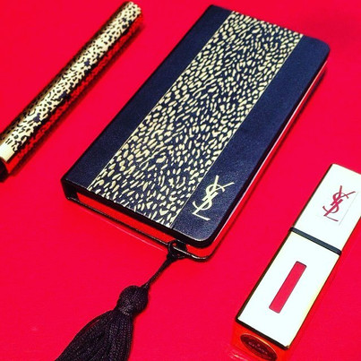 Compact + tassels_ compact by mg New York #ysl #palette #tassel #cosmetics