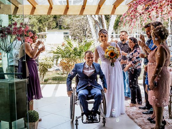 Casamento Deficiente Chacara