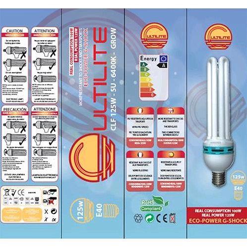 CULTILITE - G-SHOCK 125W GROW - LAMPADA CFL BASSO CONSUMO - 6400°K