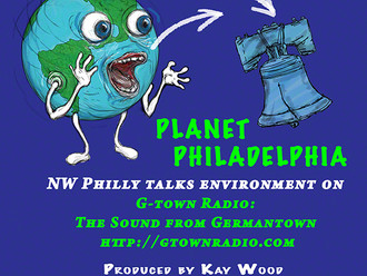 Planet Philadelphia on Gtown radio - putting this show together is work!