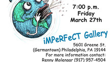 Coming March 27th -The Big Belch book talk at iMPeRFeCT Gallery