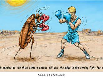 Species Survival? cartoon by Kay Wood