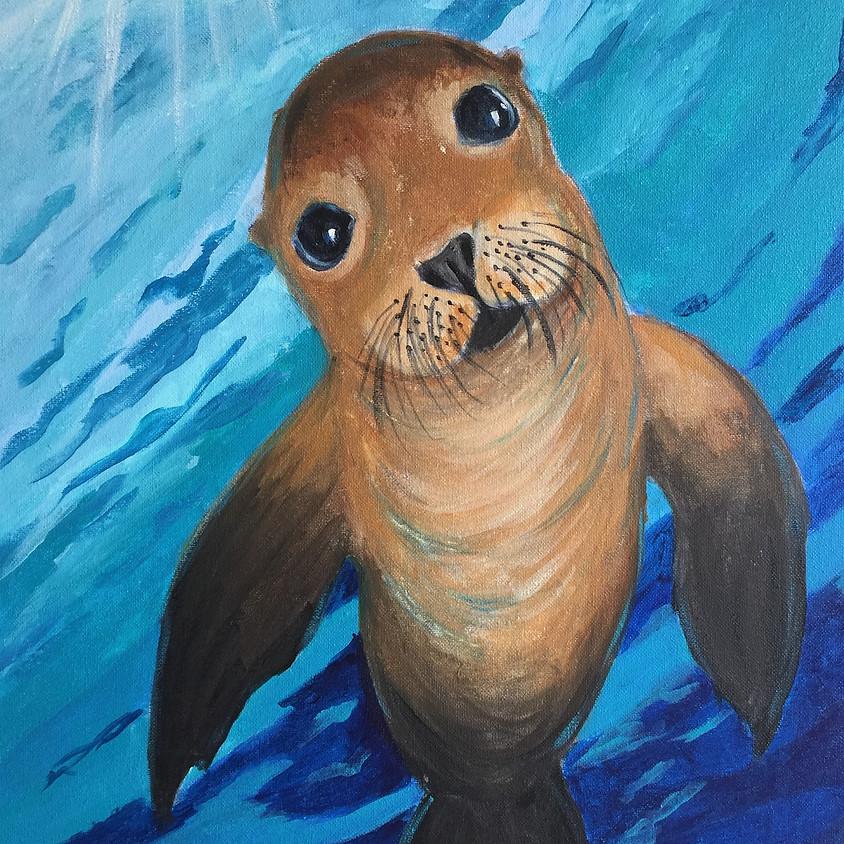 Seal @ Paint Pinot Studio 1 - Braddon, Canberra