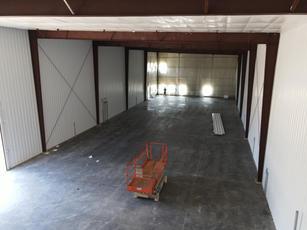 Inside the Blu Track Building