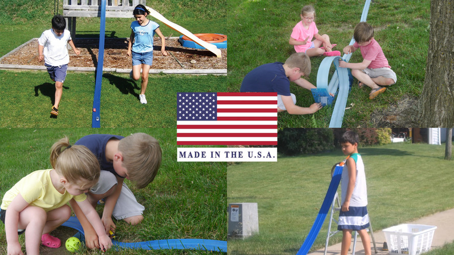 Blu Track is proudly made in the USA!