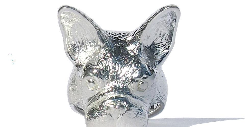 """CULOYON / BAGUE """"Mask of"""" Bouledogue Francais"""