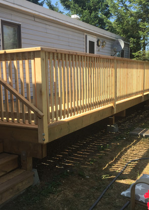 residential renovation Nanaimo deck replacement