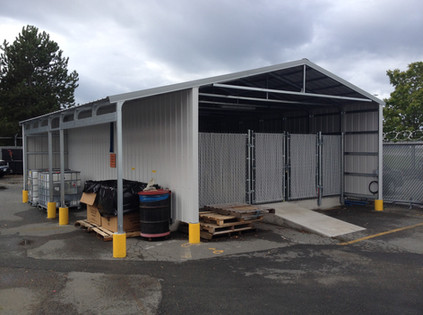 commercial construction steel building