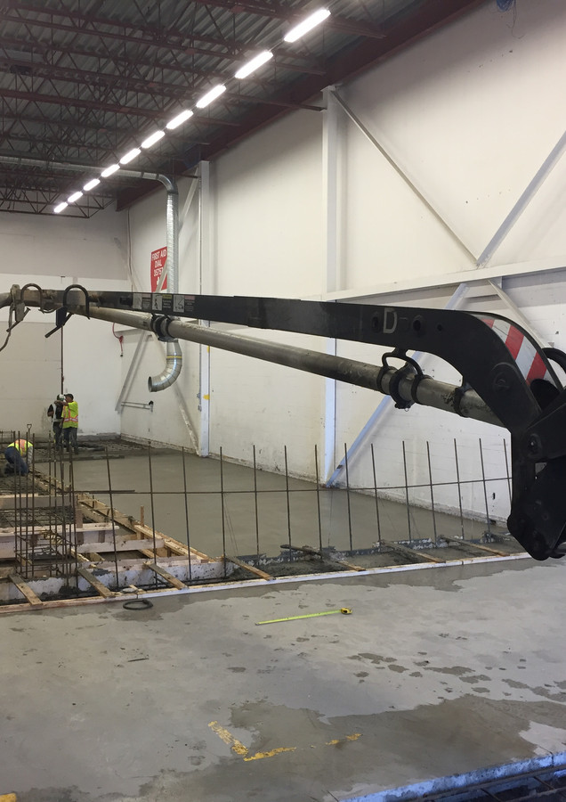 cleaning line for jet engine parts