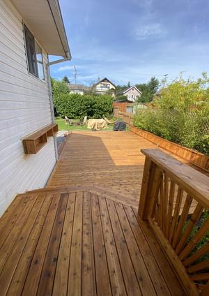 deck residential renovation nanaimo