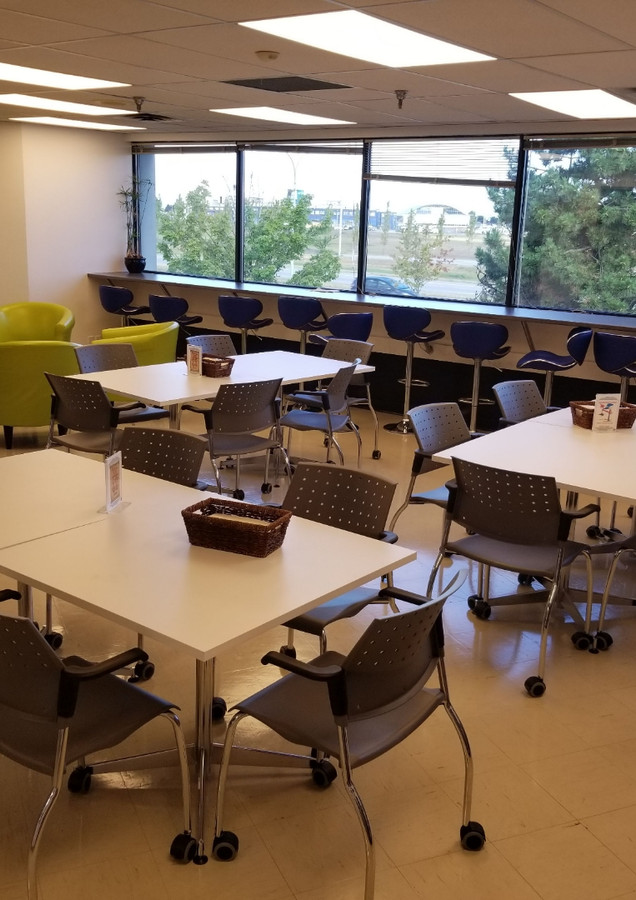commercial renovation lunch room