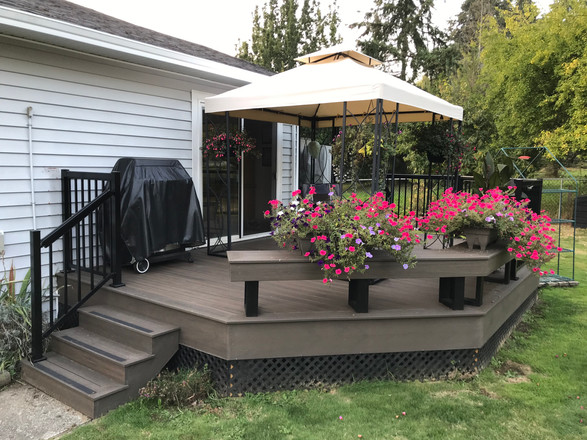 Deck replacement residential renovation