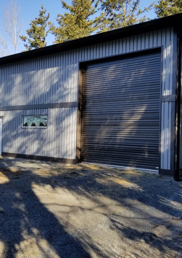 Commerical construction Nanaimo finished work shop