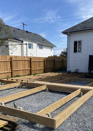residential deck constrution Nanaimostructure