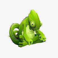 pngtree-green-chameleon-png-clipart_1103